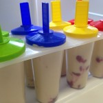 Healthy Kid Snacks: Peanut Butter Yogurt Popsicles #MrsGsApplianceChef