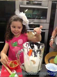 Healthy Kid Snacks: Peanut Butter Yogurt Popsicles #MrsGsApplianceChef