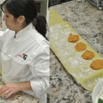 Mrs. G's Executive Chef Mary Beth makes pumpkin ravioli in our latest BYOB cooking class sponsored by Jenn-Air