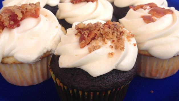 Two Amazing Beer and Bacon Cupcake Recipes
