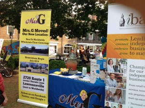 Mrs. G's at the Princeton Chamber Mid-Summer Showcase
