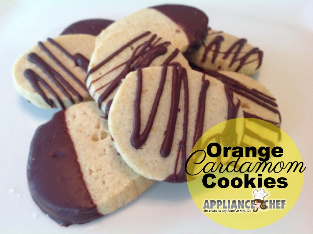 Orange Cardamom Cookies | Fall Recipes from the Big Brothers/Big Sister Autumn Culinaire  | Mrs. G's Appliance Chef