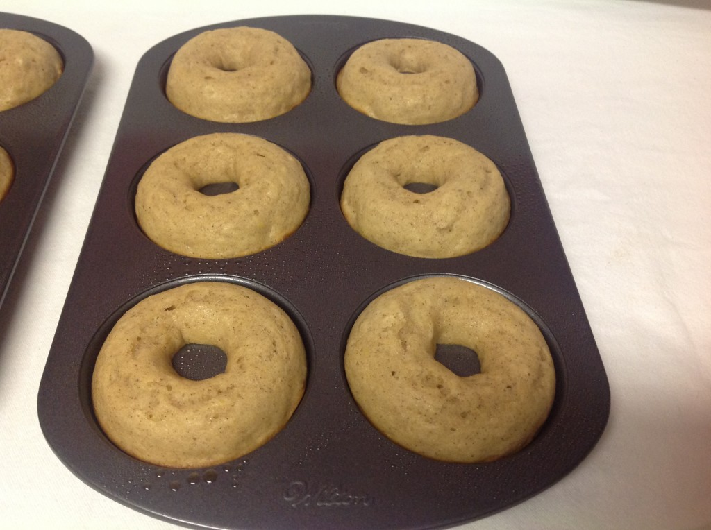 Baked Apple Cider Donuts with Terhune Orchards Cider | Mrs. G's Appliance Chef
