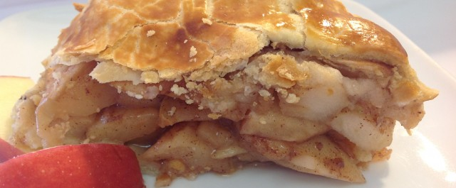 Cook & Freeze for the Holidays: Traditional Deep Dish High Apple Pie | Mrs. G's Appliance Chef