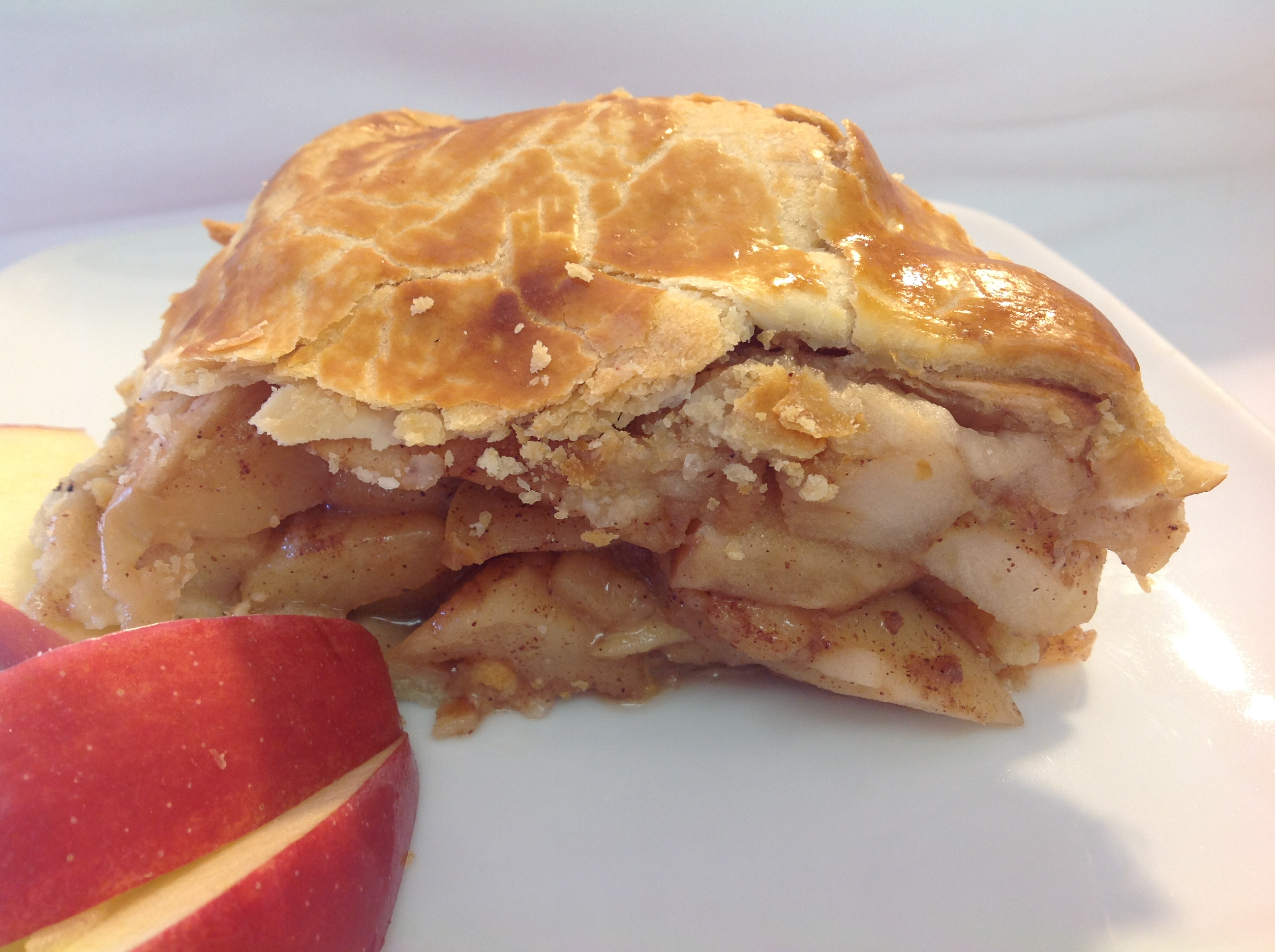 Cook & Freeze for the Holidays: Traditional Deep Dish High Apple Pie