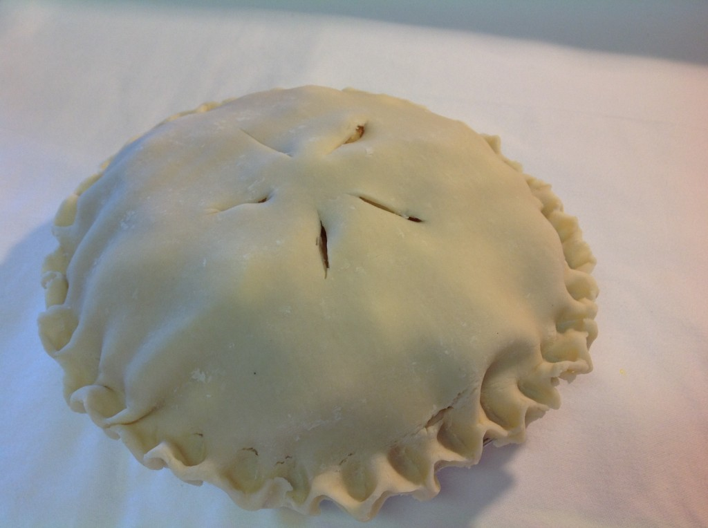 Cook & Freeze for the Holidays: Traditional Deep Dish High Apple Pie   Mrs. G's Appliance Chef