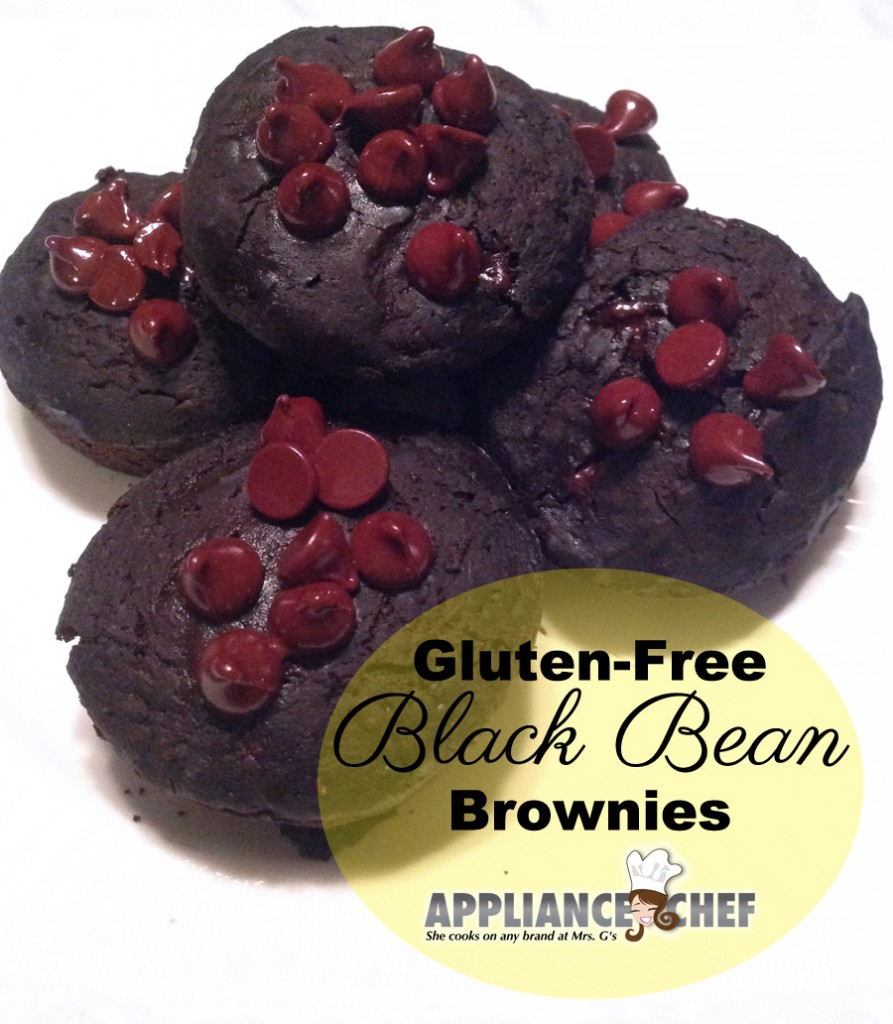 Gluten-Free Black Bean Brownies  | Mrs. G's Appliance Chef