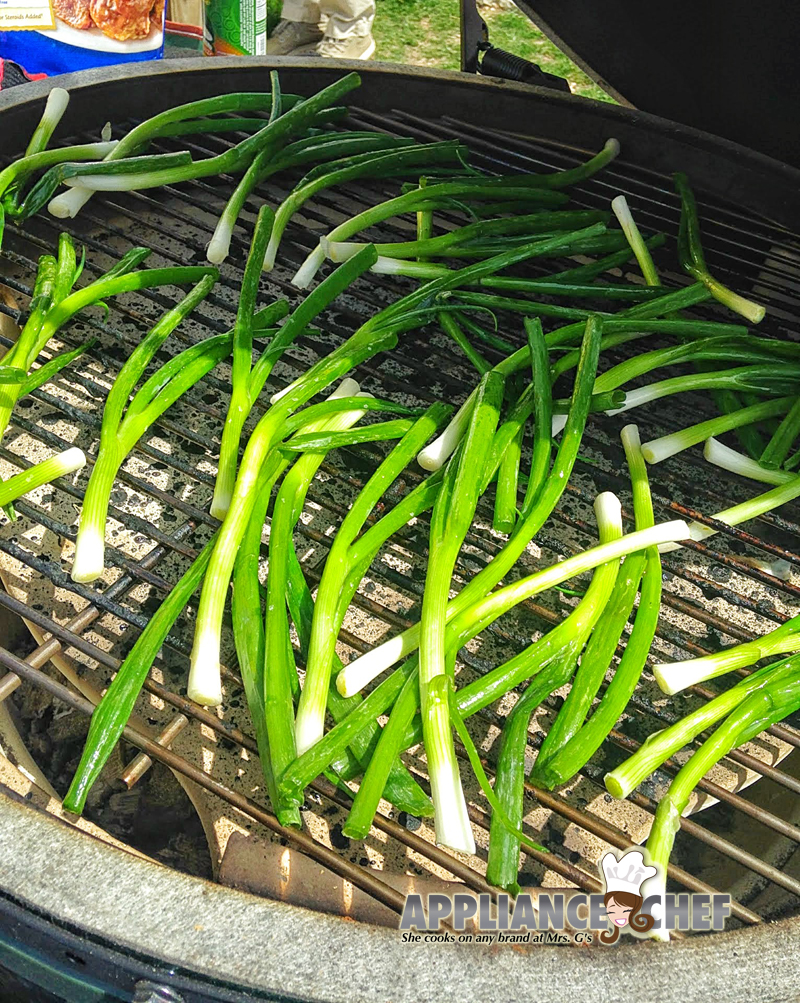 Grilled Ramps, a Last Real Wild Food | Mrs. G's Appliance Chef