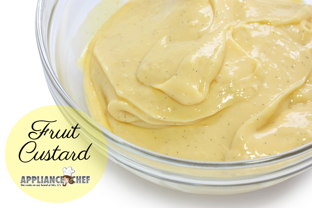 How to Make Custard Without a Dual-Stack Burner | Mrs. G's Appliance Chef