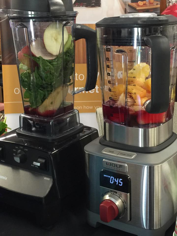 Review: Wolf Gourmet Blender vs. Vitamix  | Mrs. G's Appliance Chef