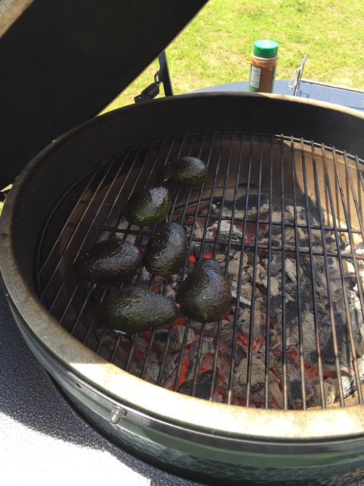 Grilled Guacamole | Mrs G's Appliance Chef