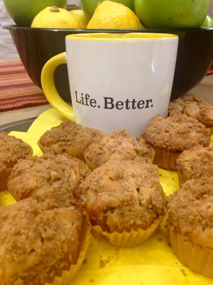 Apple Olive Oil Muffins | Mrs. G's Appliance Chef