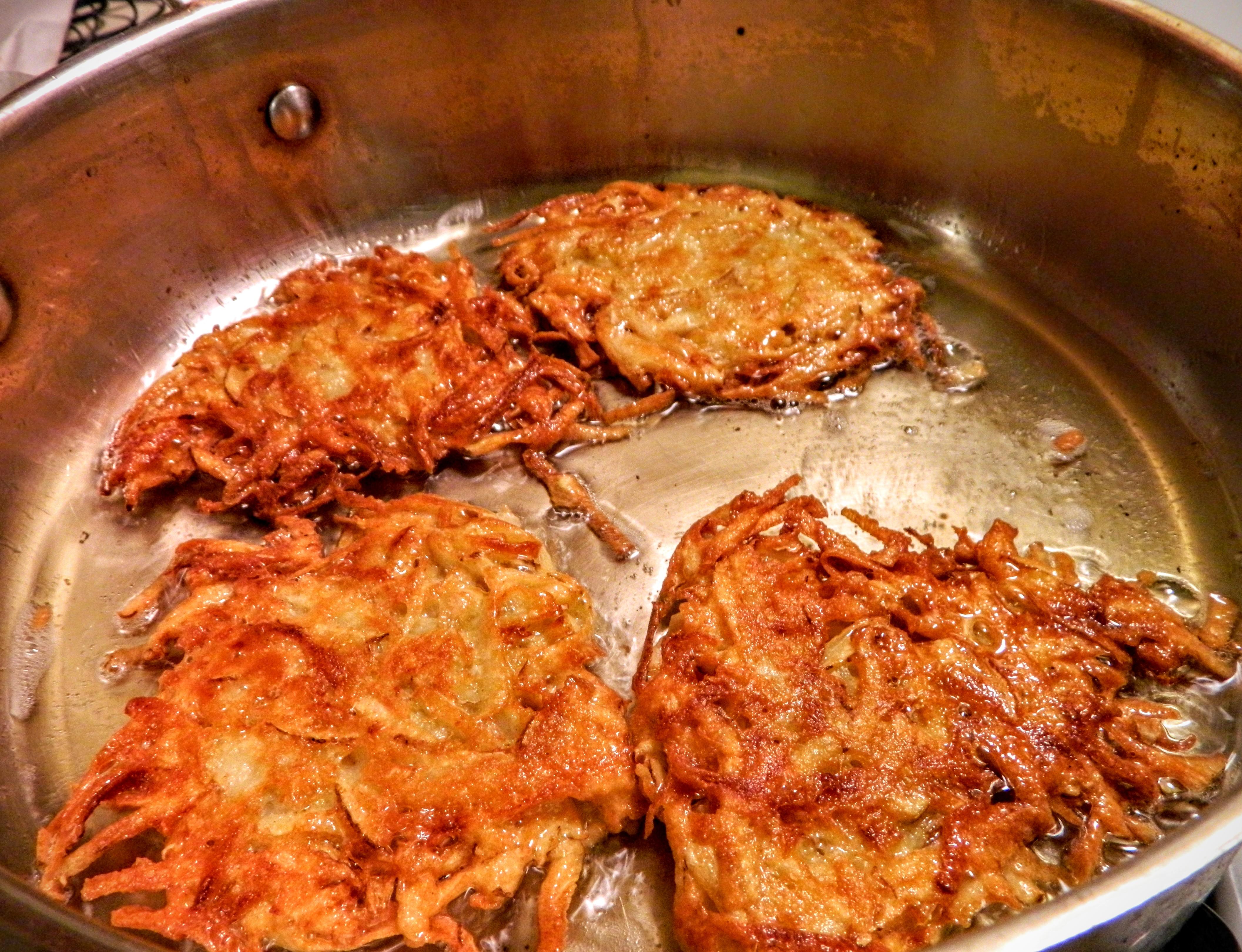 Potato Zucchini Latkes Recipe