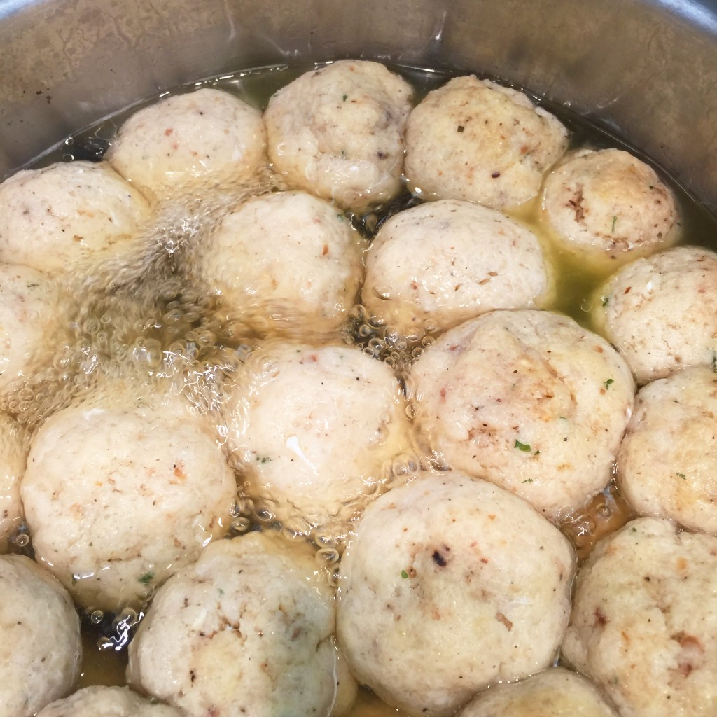 Tastes of Passover - Matzah Ball Soup | Mrs. G of Lawrenceville, NJ