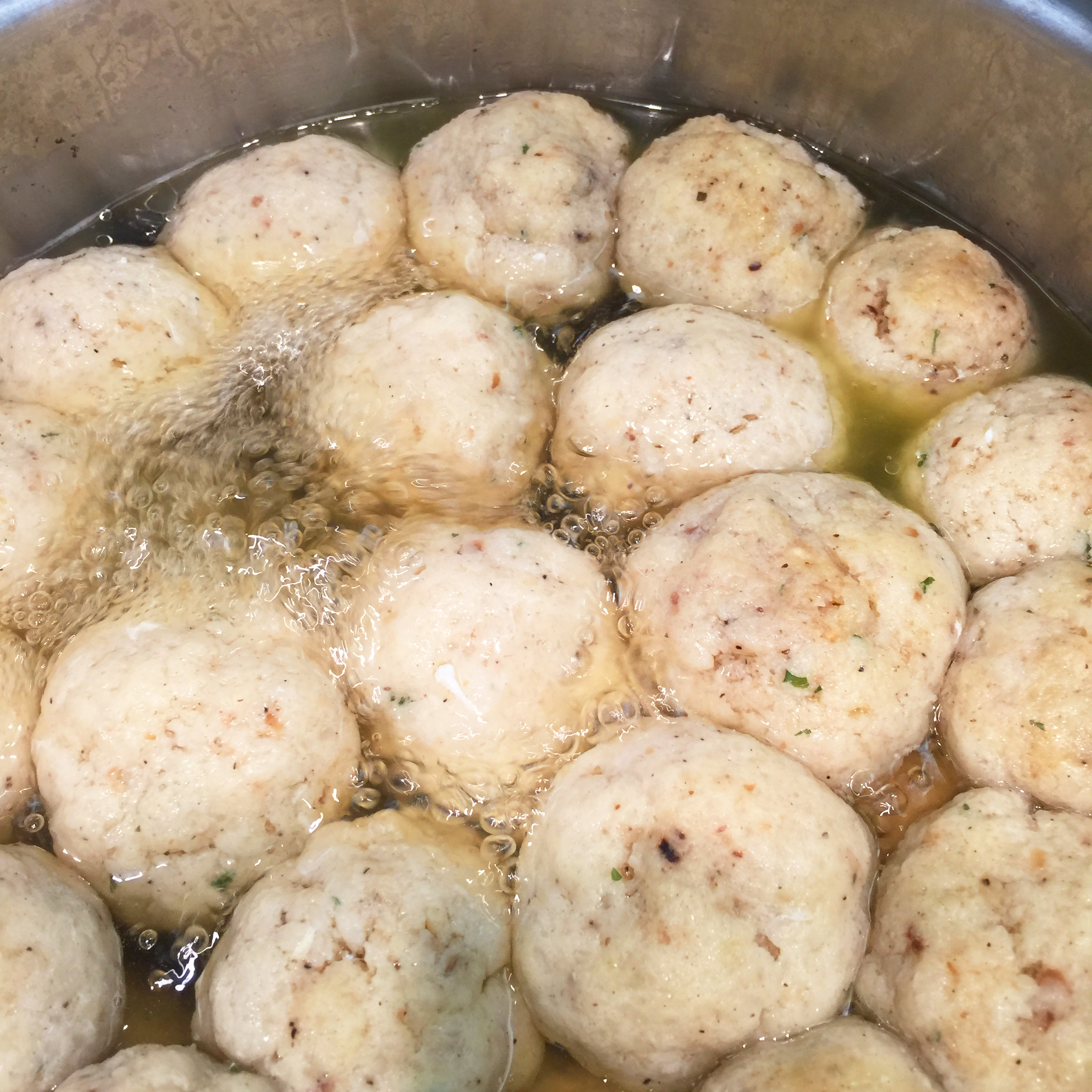 Tastes of Passover: Rabbi G's Matzah Ball