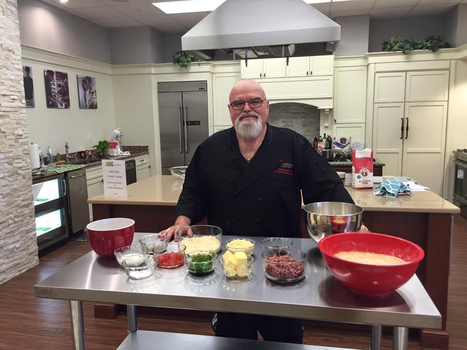 Chef John Eccleston Mrs. G Community Kitchen Lawrence NJ