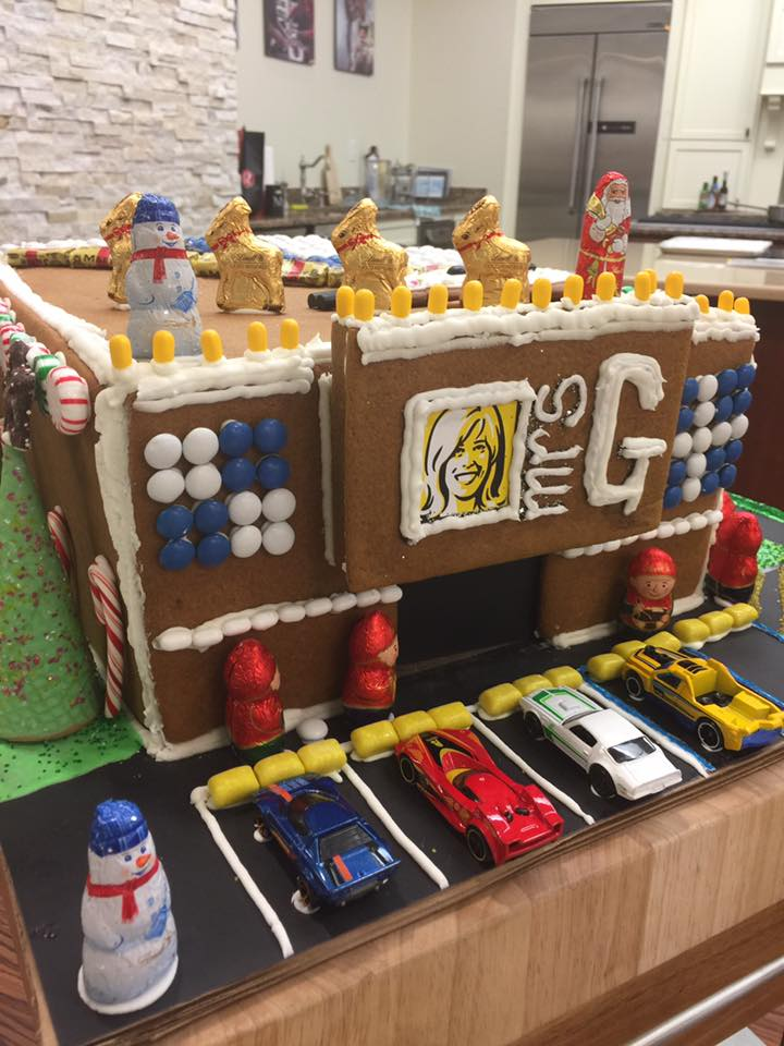 The Mrs. G Gingerbread House | Appliance Chef