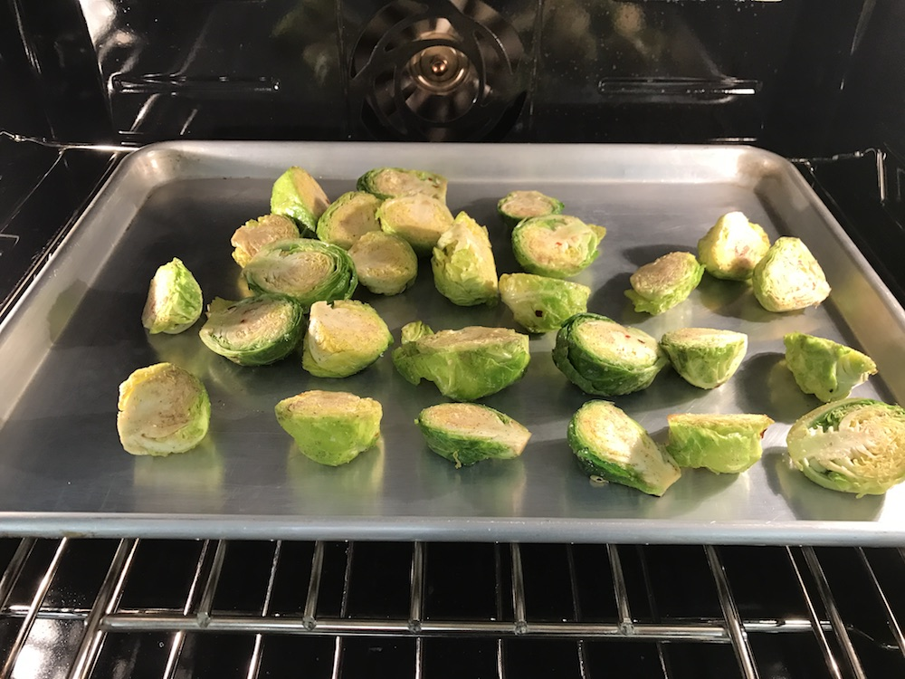 Brussel Sprouts Four Ways - Mrs G's Appliance Chef