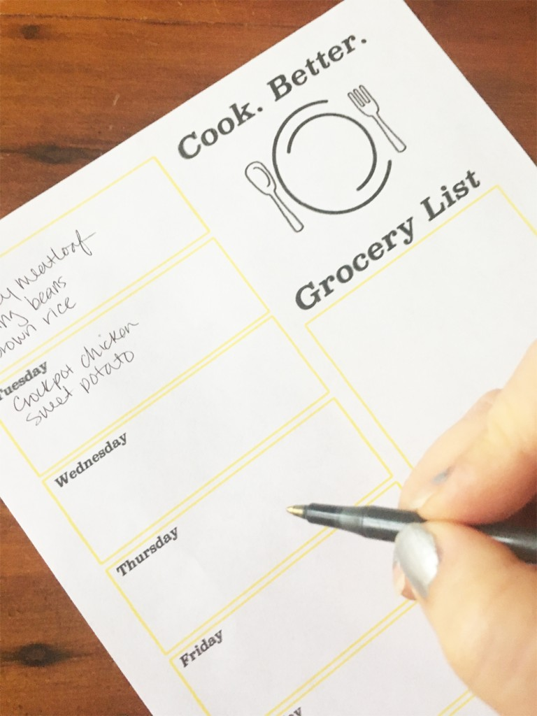 5 Tips for Better Meal Planning